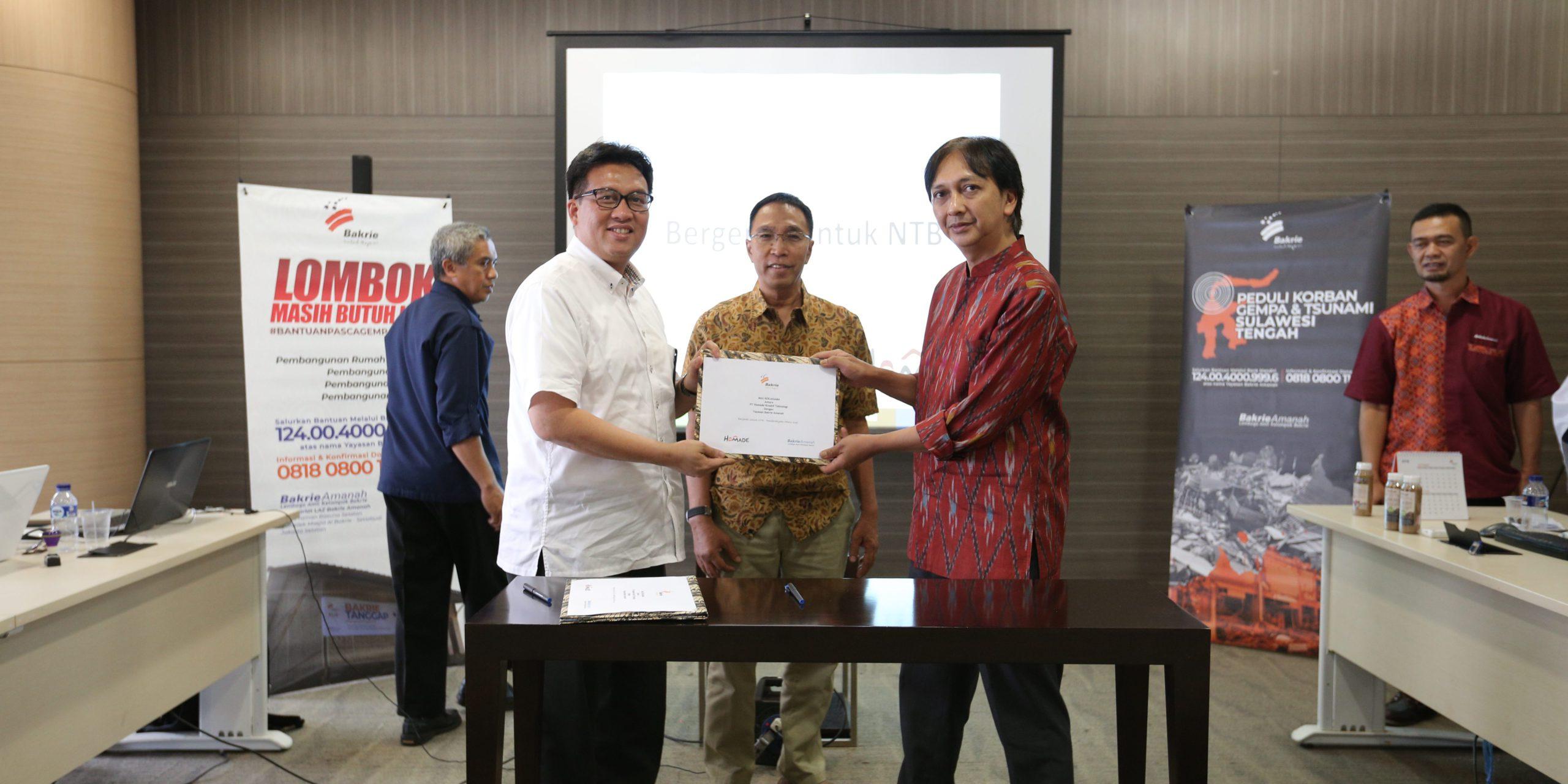 Grand Launching Kopi Lombok Bergerak Untuk NTB