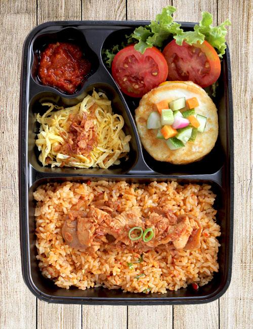 Nasi Goreng Baso Ayam