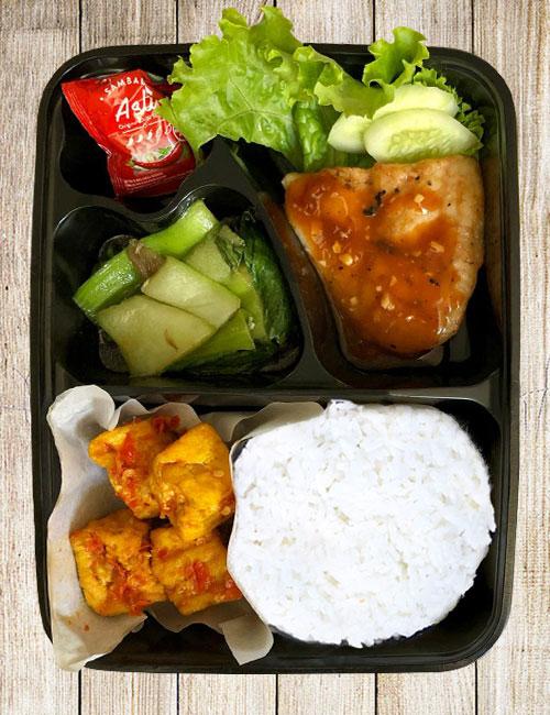 Ikan Dory Saus BBQ